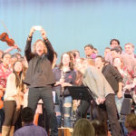 Ernie Boch donates to the NHS Music Program