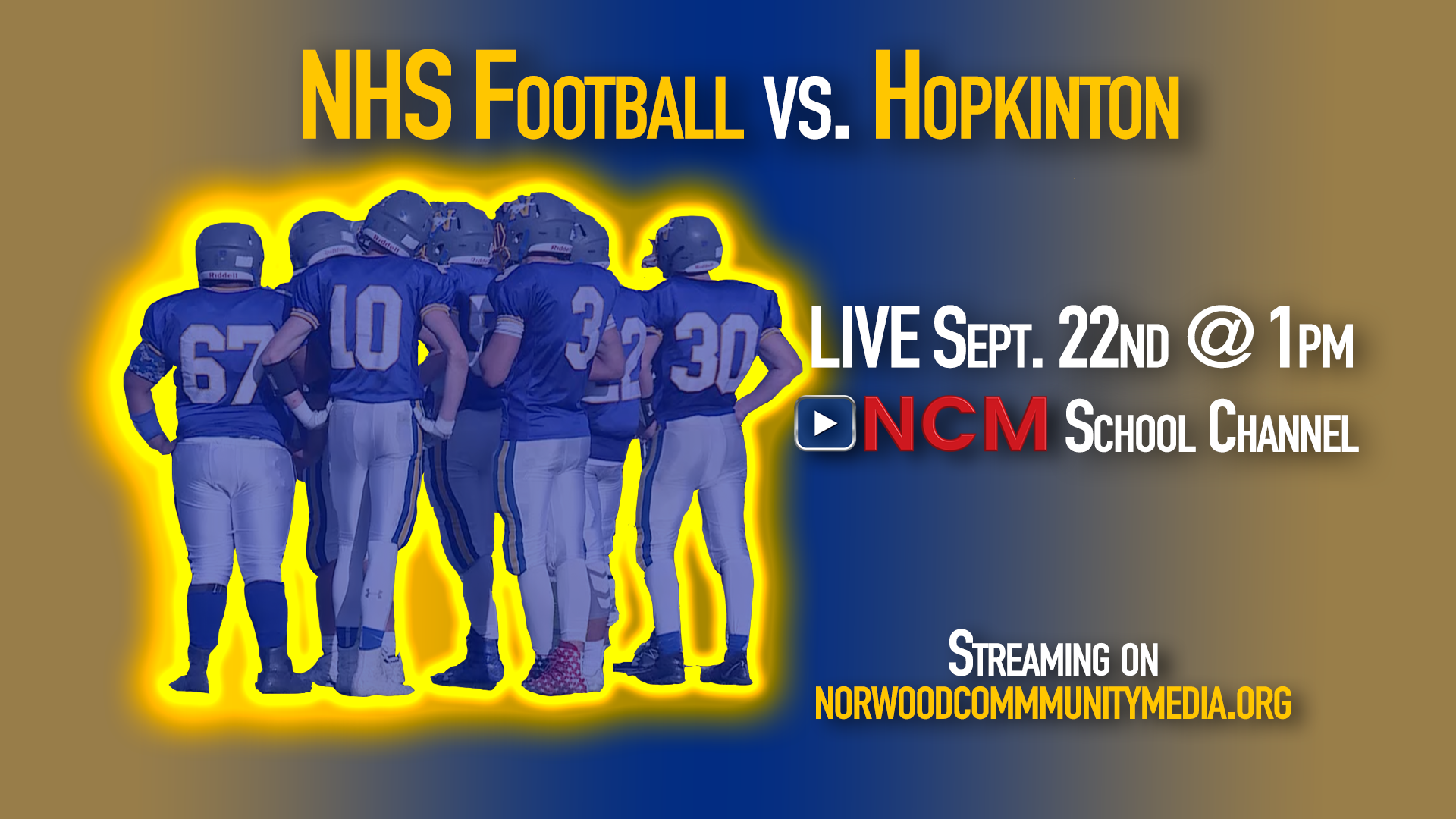 NHS Football v Hopkinton