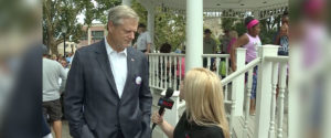 Governor Baker at Norwood Day