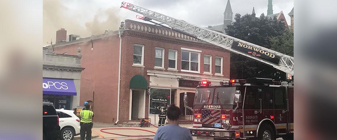 Washington St Fire