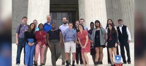 NHS Civics Class goes to DC!