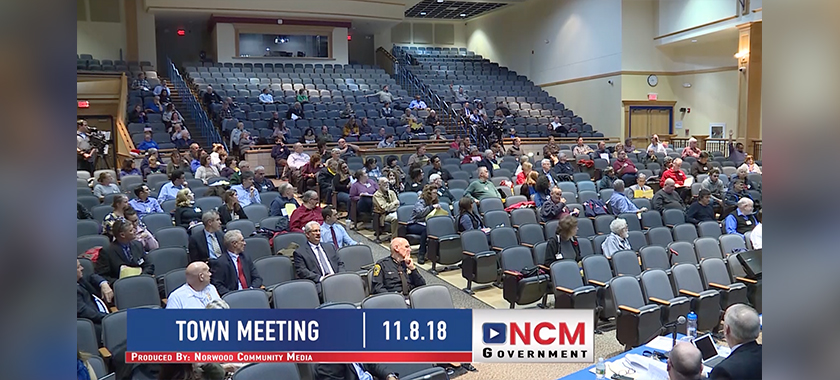 Town Meeting Norwood Light Facility Vote