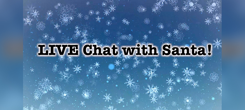 A Live Chat with Santa